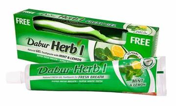 Зубная паста с базиликом Dabur Basil Toothpaste