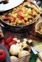 Рецепты вегетарианских овощных блюд Бандгобхи алу сабджи
