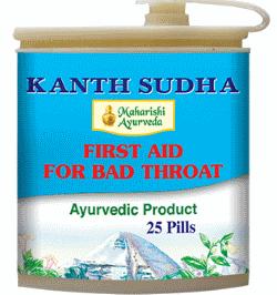 Аюрведа при простудных заболеваниях Кантх Судха, 50 таблеток