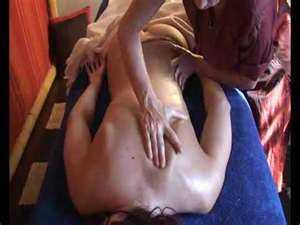 Абъянга масляный массаж