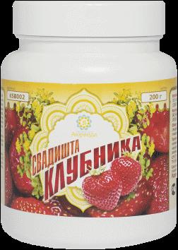 Оздоровительные средства ТД Аюрведа - 2 Белковый коктейль «Свадишта Клубника»