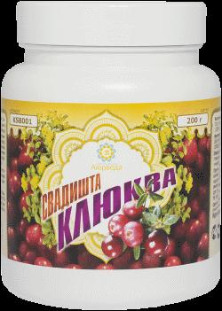 Оздоровительные средства ТД Аюрведа - 2 Белковый коктейль «Свадишта Клюква»