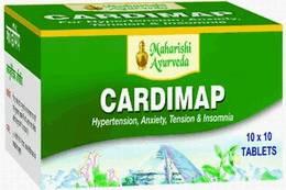 Аюрведа для нормализации кровяного давления Кардимап (Cardimap), 100 таблеток
