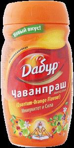 Аюрведа общеукрепляющие средства Чаванпраш Дабур Апельсин