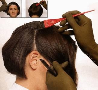 Окраска волос хной и басмой - методы и пропорции