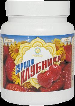 Оздоровительные средства ТД Аюрведа - 2 Инулиновый коктейль «Cурадж» со вкусом Клубники
