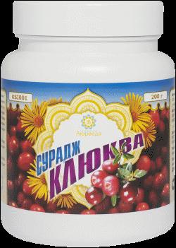 Оздоровительные средства ТД Аюрведа - 2 Инулиновый коктейль «Cурадж» со вкусом Клюквы