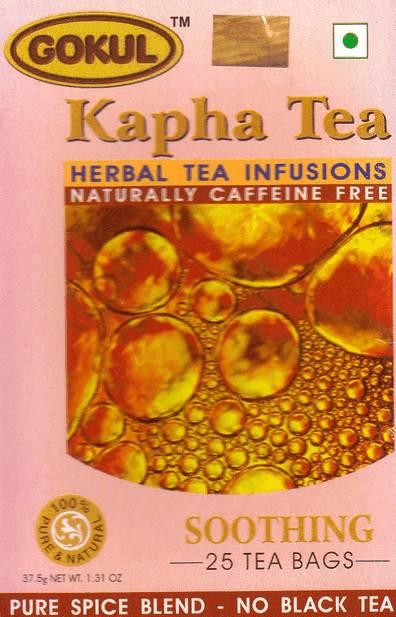ЧАИ Kapha Tea        Тонизирующий Кафа чай