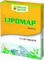Аюрведа для печени Липомап 40 таблеток