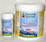 Аюрведа для нормализации кровяного давления Махариши Амрит Калаш 5+4 (Maharishi Amrit Kalash), 600 гр + 60 таб