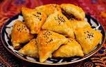 Вегетарианские рецепты Аюрведы Самоса - пирожок (чебурек) с овощами