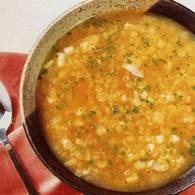 Вегетарианский суп из чечевицы с тыквой