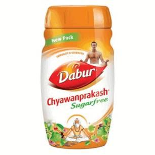 Аюрведа общеукрепляющие средства Чаванпраш Дабур без сахара