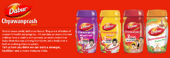 marketing mix in dabur
