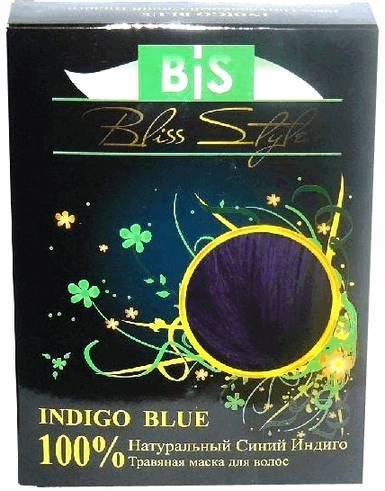 Хна натуральная синий индиго (INDIGO BLUE HENNA)