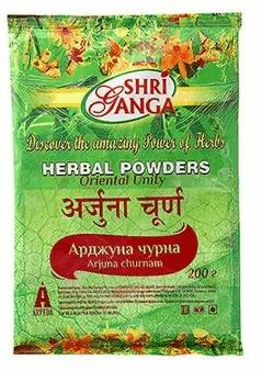 Аюрведа для нормализации кровяного давления Арджуна чурна (Arjuna churna)