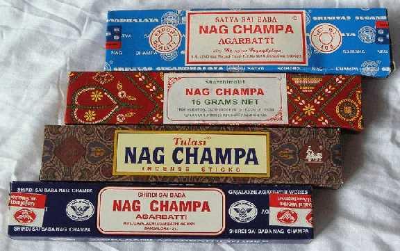 """Аромат Наг чампа известен как """"Аромат нового века"""". Его выбирают для своих практик духовные лидеры, он также очень популярен среди молодежи"""