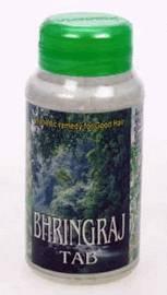 Бринградж - средство, предупреждающее процессы старения, поддерживающее и омолаживающее кости, зубы, волосы, зрение, слух и память Bhringraj