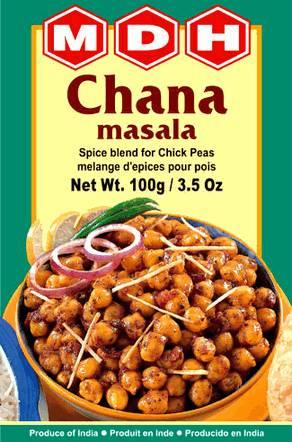 Чана масала (смесь для далов и бобовых)