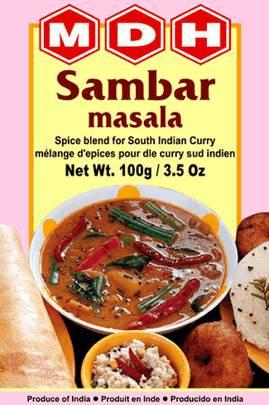 Самбар масала Sambar masala (смесь специй) MDH