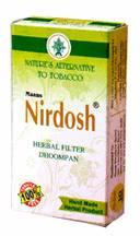 Аюрведа при простудных заболеваниях Аюрведические лечебные сигареты Нирдош, 10 штук