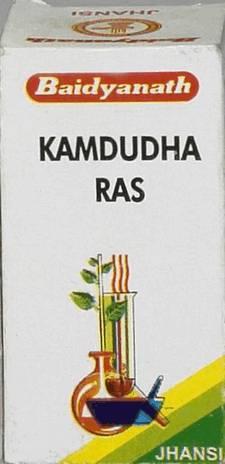 Аюрведа для печени Камдудха Рас (Kamadudha Rasa), 25 таблеток
