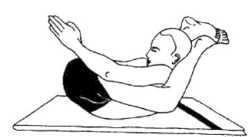 Дви-пада-кандхарасана (поза для ног и плеч)