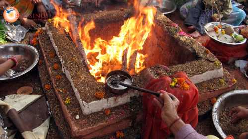 Хома - огненный обряд