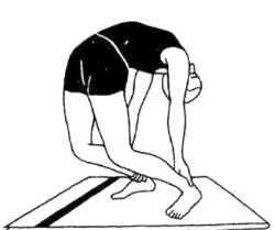 Приштхасана (поза для спины)