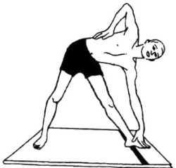 Триконасана (поза треугольника)