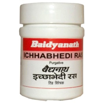 Аюрведа для печени Ичхабхеди Рас (Ichhabhedi Ras), 80 таблеток (10 грамм)