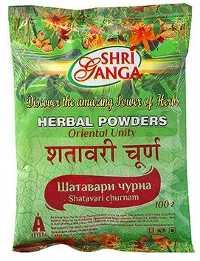 Аюрведа при простудных заболеваниях Шатавари порошок (Shatavari churna), 100 и 250 грамм