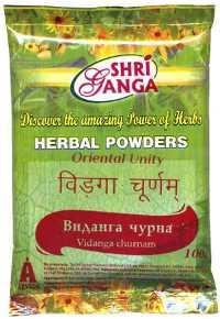 Аюрведа при простудных заболеваниях Аюрведа при кожных заболеваниях Виданга порошок (Vidang churna), 100 грамм