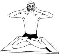 Ноумукхи-мудра (закрывание девяти врат)