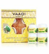 Набор для отбеливания кожи Ваади Vaadi herbals lemongrass and cedarwood spa facial kit 70gm