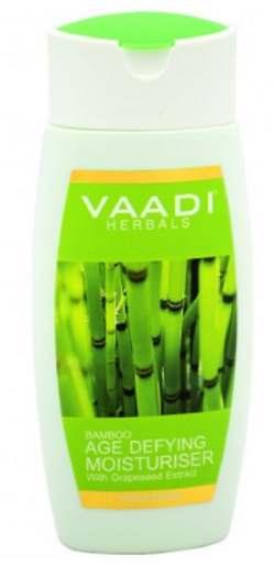 Антивозрастной увлажнитель для лица Бамбук и Виноград Ваади (Vaadi Bamboo Age Defying Moisturiser) 110 мл