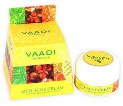 Крем против прыщей и акне Гвоздика и ним Vaadi Anti-Acne Cream Review 30 гр