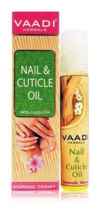 Масло для ногтей и кутикулы Ваади Nail, Cuticle Oil with Jojoba Oil Vaadi 10 мл