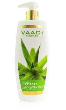 Молочко для глубокого очищения пор Алое и Лимон Ваади (Vaadi Herbals Deep Pore Cleansing Milk) 110 мл