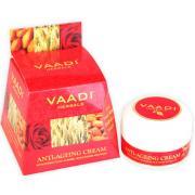Крем против морщин Ваади миндаль, Масло зародышей пшеницы, роза Vaadi Herbals Anti Ageing Cream Almond, Wheatgerm Oil, Rose 30 гр