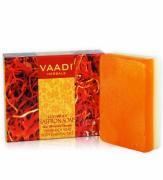 Мыло натуральное ручной работы роскошный шафран Ваади (Vaadi Luxurious Saffron) 75 гр
