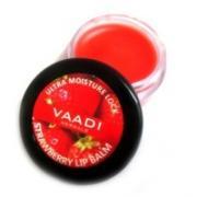 Бальзам для губ Ваади Клубничный Vaadi Herbals Strawberry Lip Balm 10 гр