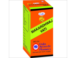 Аюрведические препараты UNJHA Макардвадж Вати (Makardhwaj Vati) 30таб