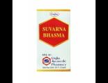 Аюрведические препараты UNJHA Суварна Бхашма (Suvarna Bhasma) 100мг