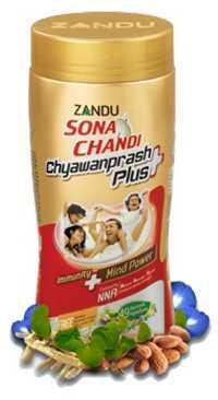 Чаванпраш Zandu Sona Chandi Chyawanprash Plus 450 гр