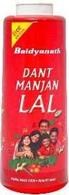 Зубной порошок Dant Manjan Lal (Baidyanath) 55 гр