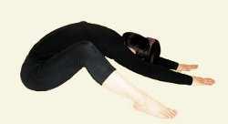 Йога для спины Наклоны из положения лежа