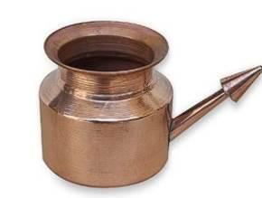 Нети Пот - чайник для промывки носа медный