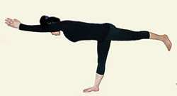 Йога для спины Вирабхадрасана