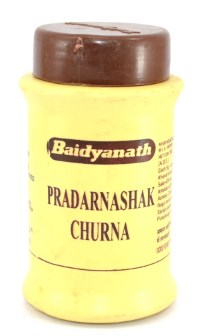 Прадарнашак чурна (Pradarnashak Churna Baidynath) – тоник для женщин и мужчин 60 гр